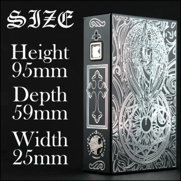 Dual 18650 Vape Box Mod With Varioable Voltage