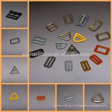 top vente de matériel en métal en forme de boucles ykk