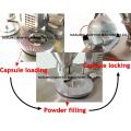 Mini remplisseur de capsule de capsule de GMP de haute qualité semi-automatique de haute qualité