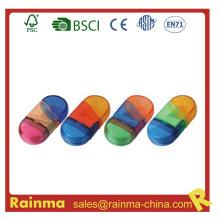 Escuela Favor Color Sharpener con Eraser