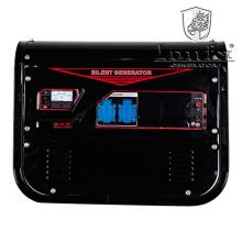 Generador insonoro del generador silencioso de la gasolina del comienzo de la mano 2.5kVA