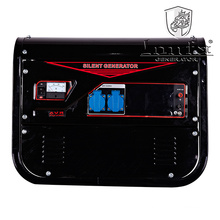 2.5kVA Hand Start Silent Gasoline Generator Soundproof Generator