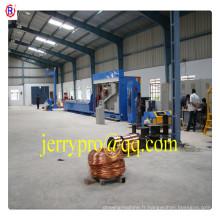 13DT RBD (1.2-4.0) 450 tige de cuivre machine de dessin de dépannage câble faisant l'équipement câble électrique faisant la machine