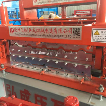 Baja Atap Panel Glazed Tile Forming Machine