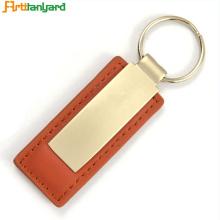 Porte-clés en métal en cuir design plus récent