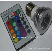 energy remote control led spotlight e27