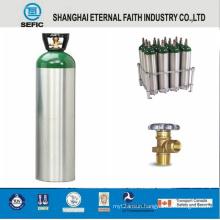 10L High Pressure Medical Aluminum Oxygen Gas Cylinder (MT-6-10)