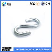 Neuer Silber Galvanisierter S-förmiger Haken mit Öse