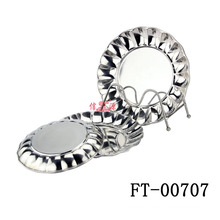Stainless Steel Fleury Round Tray (FT-00707)