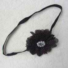 Fashion Baby Headbands Pearl Rhinestone Big Flower Baby Hair Band Beautiful Baby Girl Hair Accessories