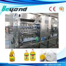Línea de relleno automático de alta calidad de aceite vegetal