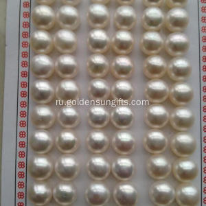 7.5-8MM Half Hole Button Pearl Loose Beads