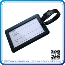 Wholesale Own Design PVC Material Luggage Tag for Souvenir
