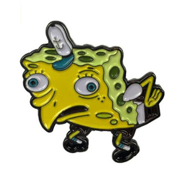Perfect Accessory Mocking SpongeBob Enamel Pin