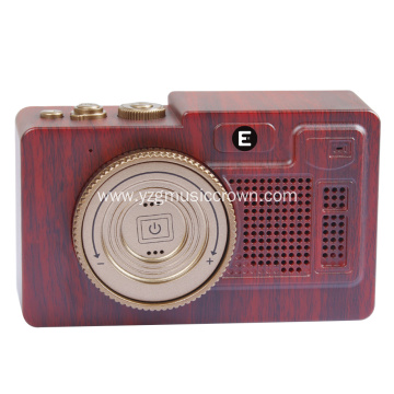 Vintage mini portable bluetooth wireless Speaker