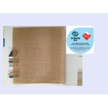ceinture de maille de téflon de PTFE bande de conveyeur enduite de fibre de verre de PTFE maille ouverte épaisseur de 0.5mm avec la marque de TEFLON autorisée par Du Pont