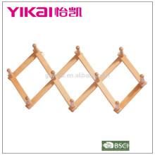 Crochet de porte en bois massif de bonne qualité en vrac