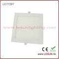 Silver/White 15W Square LED Square Panel Light for Shopping Mall LC7727t