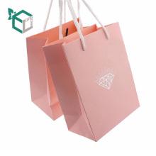 Bolsas de papel de regalo de empaquetado de la raya vertical del vestido de boda