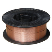 Copper Coated Gas Metal Arc Welding Wire in 15kg Plastic Spools or 250 Kg Drums.