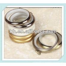 Современная металлическая занавеска из металлической сетки с маленькими кольцами, аксессуары для римских штор