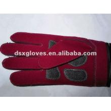 Thinsulate arbeitende lederhandschuhe
