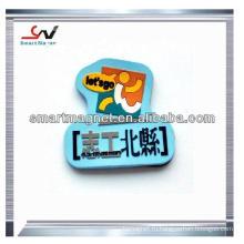 2013 горячий сувенир изготовленный на заказ 3d магнит холодильника