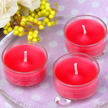 Lilin Tealights Single raya fragranced/berwarna