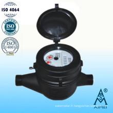 Compteur d'eau volumétrique à Piston sec Type laiton laiton