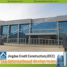 High-Quality Steel Structure Prefabricated Showroom for Cars 4s Store