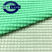 sports garment using 95 polyester 5 spandex jacquard knitting fleece fabric