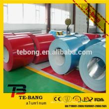 Prepainted bobina de aluminio precio / volumen fabricantes / venta caliente