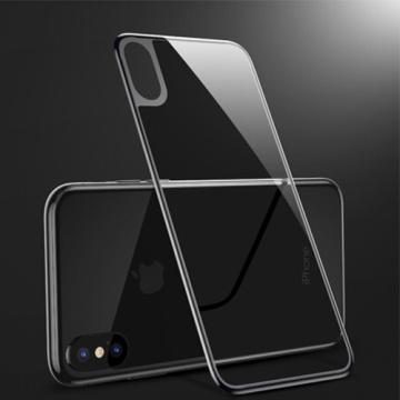 Coque 3D en verre trempé pour iPhone X