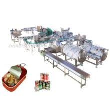 Equipo automático para maquinaria de procesamiento de pescado