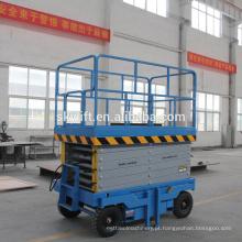 Elevador de tesoura hidráulico de 8m para lavagem de carros