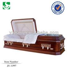 ataúd del ataúd fabricación venta directa de la cremación de madera personalizado