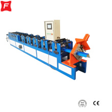 Reasonable price for China Square Gutter Roll Forming Machine for Sale Roof square gutter making machine supply to Haiti Manufacturers
