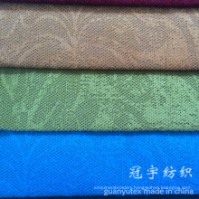 Polyester and Nylon Corduroy Fabric Flower Pattern Embossed for Sofa