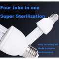 Air purifying and sterilization UV disinfecting light