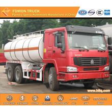 SINOTRUK 6x4 liquid chemical tank truck 20000L