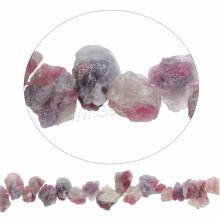 2016 quente venda de jóias pérolas brilhantes rosy quartzo contas naturais vermelhas