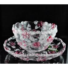 la moda diseñó la fruta de cristal para los favores de la decoración del hogar