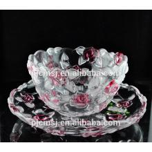 moda projetada frutas de cristal para favores de decoração para casa