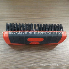 Double Colour Square Plastic Board Brush with Plastic Wire (YY-501)