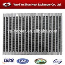 Fabricante chino del núcleo del radiador de la barra-aleta