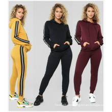 Kangaroo Pocket Hoodies Sweatshirt Drawstring Pants
