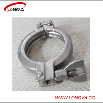 Sanitary Stainless Steel Pipe Fitting Double Pin Clamp