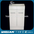 Pequeño gabinete de baño de esquina de PVC blanco de Australia
