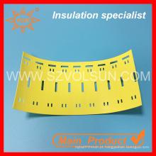 Tag de amarração de cabo plástico amarelo retardador de chama alta