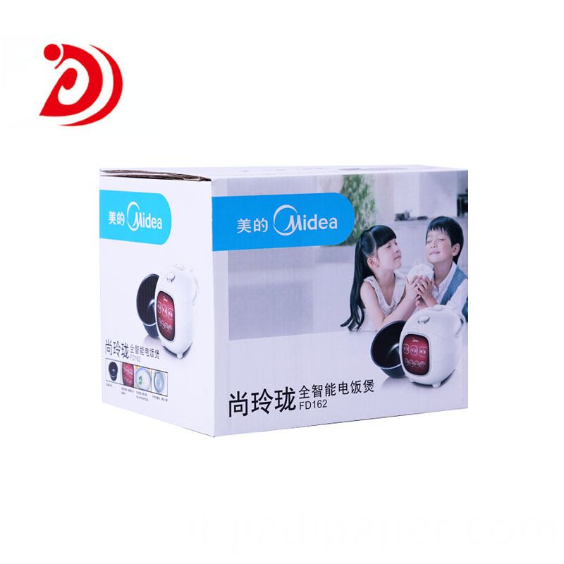 Carton box plastic handle